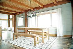 Beginner Farm Table (2 Tools + $50 Lumber) | Ana White Farmhouse Entryway Table, Build A Farmhouse Table, Diy Dining Table, Farmhouse Furniture, Furniture Plans, Woodworking Furniture, Easy Table, Diy Furniture, Rustic Table