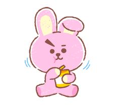 The perfect Kawaii Love Ok Animated GIF for your conversation. Discover and Share the best GIFs on Tenor. Line Friends, Bts Chibi, Line Sticker, Bts Fans, I Love Bts, Kpop Fanart, Cute Characters, Cute Gif, Bts Wallpaper