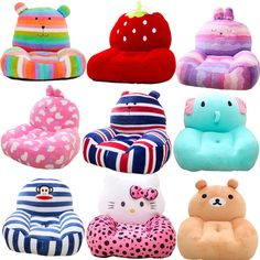 Safety Equipment Car Seats & Accessories Bright Cotton Car Warm Seat Cushion Mattress Stroller Pad Baby Cartoon Animal Thick Pillow Case Chair Price Remains Stable