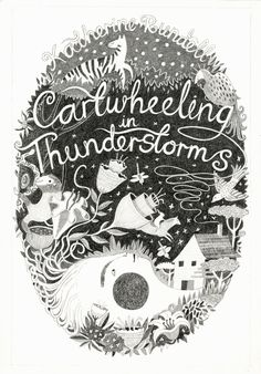 'Cartwheeling in Thunderstorms' graphite by Melissa Castrillon