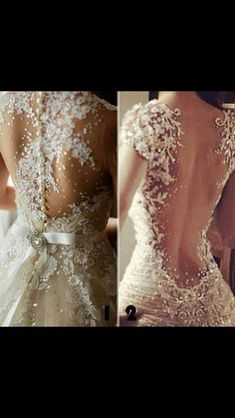 Must have: lace open back