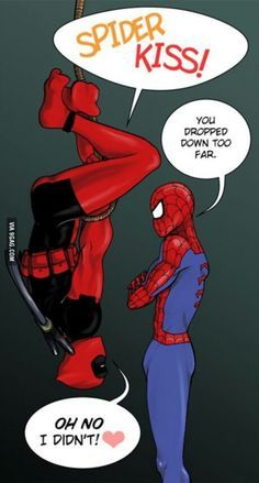 spideypool funny - Google Search