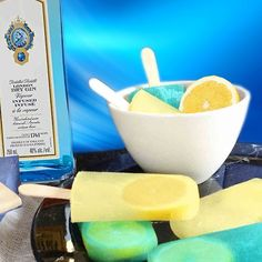 Gin-Lemon-Popsicles