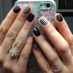 Progression, Static (both retired 2/28/15)  & Darkest Black  http://juliemeeks.jamberrynails.net