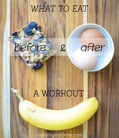 What to Eat Before and After Your Workout Tip #16 with Amy Stafford at www.ahealthylifeforme.com