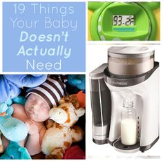 19 Things Your Baby Doesn't Actually Need