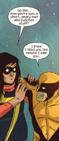 Ms. Marvel #6 - Wolverine and Kamala