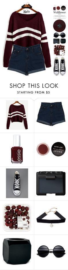 """thanks to you, i've lost my touch"" by fashionace-473 ❤ liked on Polyvore featuring Essie, Converse, NARS Cosmetics, H&M and Seletti"