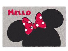 Disney Minnie Zerbino per la Porta, Accessori Casa Disney Zerbini - TocTocShop.com -
