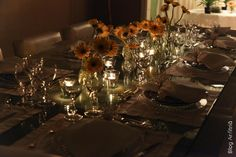 JANTAR ROMÂNTICO - NOSSOS FILHOS   Anfitriã como receber em casa, receber, decoração, festas, decoração de sala, mesas decoradas, enxoval, nosso filhos