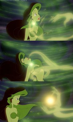 Ursula Takes Ariel's Voice