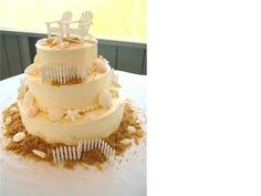 mini adirondack chair cake topper | Three Cool Ways to Use Adirondack Chair Favors