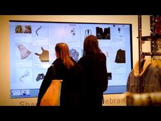 Share Shop Celebrate at Topshop's Christmas 2013 Topshop partnered with Pinterest in their flagship stores in London and New York to offer their customers an instore digital gift guide on a large format touchscreen. #doohdas