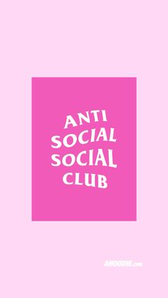 Anti Social Club iPhone 6 Wallpaper