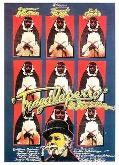 """MP793. """"Trágala, perro"""" Spanish Movie Poster by Iván Zulueta (Antonio Artero 1981) / #Movieposter"""