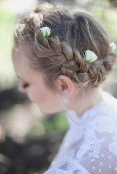delicate with textured plait