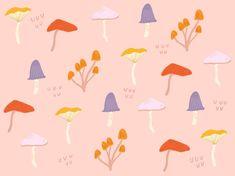 Cute lil shroom pattern, living for peach recently!!🍄✨  •  •  •  #illustration #illustrator #mushrooms #print #pattern #surfacepattern #graphic #design #instaart #illustrationoftheday #ohhdeer #peach #procreate #shrooms #cute #drawing