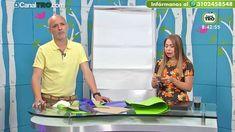 Falda con cola y blusa drapeada por Diego Bohórquez - Hecho Con Estilo - YouTube