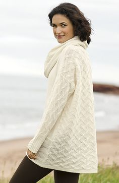 Alie cable pullover