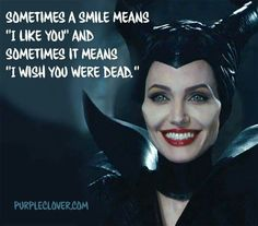 If you aren't sure when I smile at you assume it's the latter of the two. Evil Queen Quotes, Evil Quotes, Dark Quotes, Sassy Quotes, Attitude Quotes, Mood Quotes, True Quotes, Funny Quotes, Qoutes