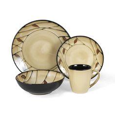Dinnerware Set 64 Piece Service for 16  sc 1 st  Pinterest & Denby Monsoon Chrysanthemum 16-piece Dinnerware Set | Overstock.com ...