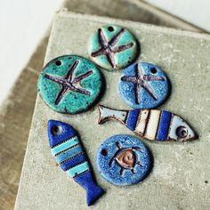 Colgantes de cerámica