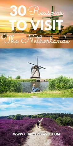 The weather in the Netherlands is always shitty, but my country definitely has unique & good qualities too: tasty food, beautiful landscape and fun activities. Check out these 30 reasons to visit the Netherlands! Europe Travel Tips, European Travel, Travel Advice, Travel Guides, Travel Destinations, Time Travel, Holiday Destinations, Italy Travel, Utrecht