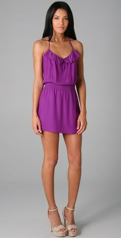 Great color. Would go better with flat sandals. Parker $187