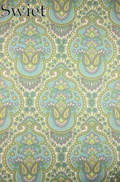 Paisley stijl barok behang | Swiet