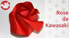 Le printemps est maintenant là, nous vous proposons pour l'occasion un origami de fleur : une rose. C'est un modèle de Toshikazu Kawasaki, origamiste et mathématicien qui a établi des théorèmes liés à ces deux domaines. En tant qu'origamiste, il est célèbre pour ses modèles de roses basés sur un enroulement du papier qui donne une allure très réaliste à la fleur. Pour encore plus de vidéos, photos et tutoriels, venez nous visiter sur http://www.senbazuru.fr