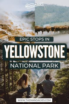 Looking for the most gorgeous photo locations in Yellowstone National Park? You MUST save this pin, because we're spilling all the tea on the most beautiful locations, including the best times to visit each! Alaska Travel, Travel Usa, Alaska Camping, Alaska Cruise, Yellowstone Vacation, Yellowstone National Park, Grand Teton National, National Road, Viewing Wildlife