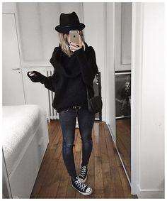 Audrey @audreylombard ⚫️• Hat #emmanue...Instagram photo | Websta (Webstagram)