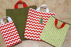 How to Make a Gift Bag   AllFreeSewing.com