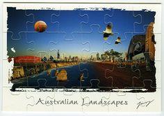 Australia        Jigsawcard 091