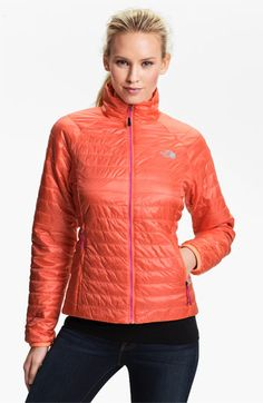 I bought the Thunder jacket and love it so much I wouldn't mind buying another but it's sold out. I'm considering buying this lighter one but not in this color. Not sure if the blue is too bright. So comfortable! The North Face 'Blaze' Jacket available at #Nordstrom