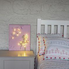 Fairy Illuminated Canvas with 20 LED lights £34