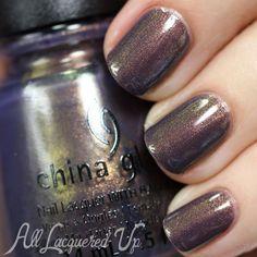 China Glaze All Aboard Fall 2014 Swatches & Review – Part 1 (via Bloglovin.com ) choo choo choose you