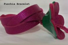 Handmade Bracelet made by Pleather Trove sister store of Smoochic Shop can be found on on Etsy.