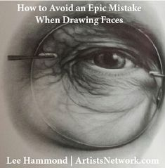 Lee Hammond always has great advice for drawing > ArtistsNetwork.com #drawing #art #coloredpencil #portraits