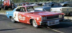Hayden Proffitt The Grant -REBEL SST  Funny Car. (1967 AMC) (Grant Engineering )