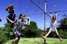 Remember Swinging on the Hills Hoist Clothes Line?