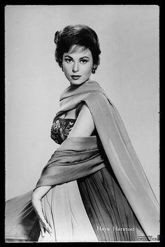 "Haya Harareet, Israeli actress best known as Esther in ""Ben-Hur."" Born September 20, 1931."