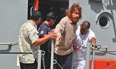 Salvador Alvarenga, sailor lost at sea for 14 months, facing press and public for the first time