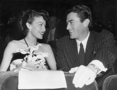 Ava Gardner & Gregory Peck. Sickeningly perfect