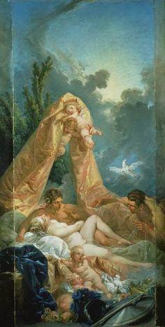 Αφροδίτη και Άρης και ο έκπληκτος Ήφαιστος 1754