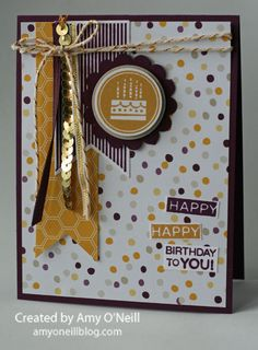 Amazing Birthday and Moonlight Designer Series Paper Stack - Amy O'neill  Stampin' Up!