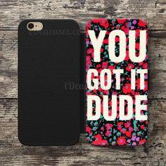 You Got it DUDE Wallet Case For iPhone 6S Plus 5S SE 5C 4S case, Samsung Galaxy S3 S4 S5 S6 Edge S7 Edge Note 3 4 5 Cases