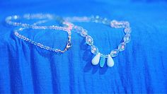 Frozen Inspired Long Necklace by Jaceyscreations on Etsy