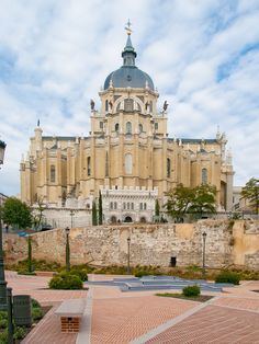 Cathedral of Saint Mary the Royal of La Almudena · Madrid · is the Catholic cathedral in Madrid, the seat of the Roman Catholic Archdiocese of Madrid. It was consecrated by Pope John Paul II in 1993.