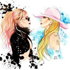 Amazing Gaga art!